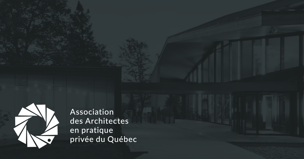Association des architectes en pratique privée du québec aappq